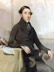 John MacGibbon watercolour portrait (1840)